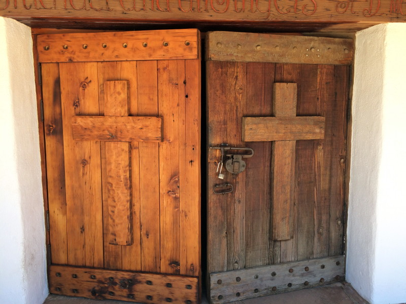 Joseph Restores the Church Doors