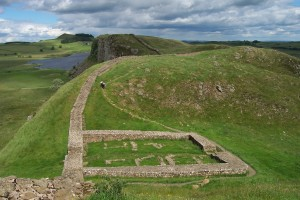 Milecastle 39 on Hadrian's Wall. Credit: Wikimedia.
