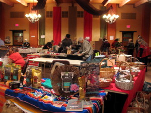 Vendors at the Advent International Bazaar