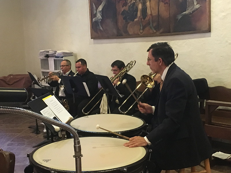 Guest musicians for the High Mass of Easter, 2016