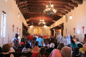 Episcopal School Sunday - Parishioners and School