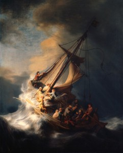 Rembrandt: Christ in the Storm on the Sea of Galilee - 1633