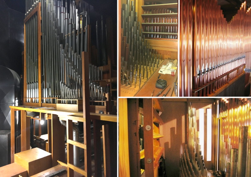 Our Æolian-Skinner pipe organ was first built in 1959.